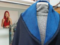 Cozy Winter Coat Blue