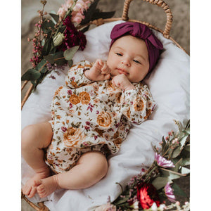 baby top knot headband | mulberry - MUMMA + BUBBA COLLECTIVE