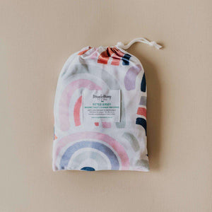 fitted bassinet sheet + change pad cover | rainbow baby - MUMMA + BUBBA COLLECTIVE