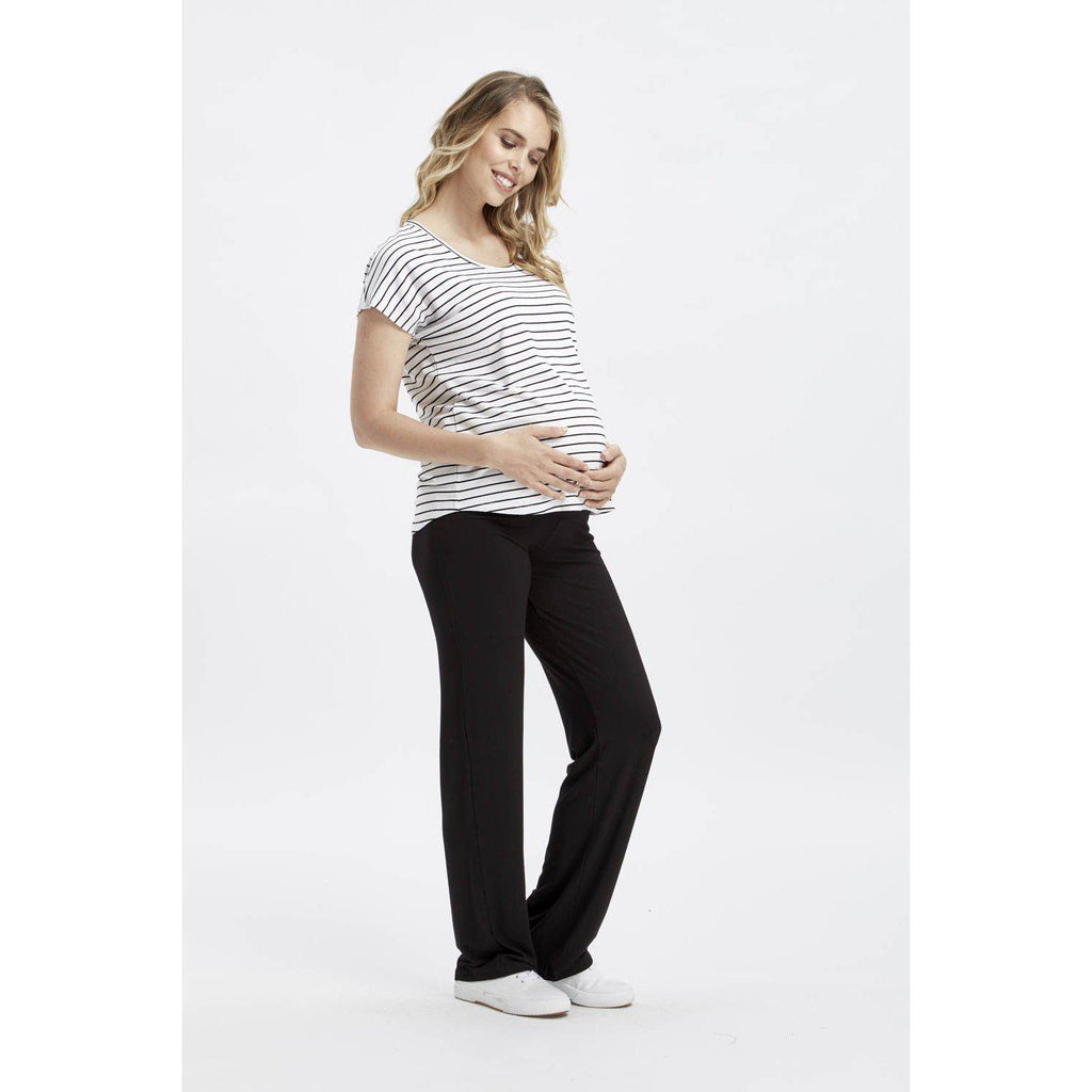 maternity top | eadie top | stripes - MUMMA + BUBBA COLLECTIVE
