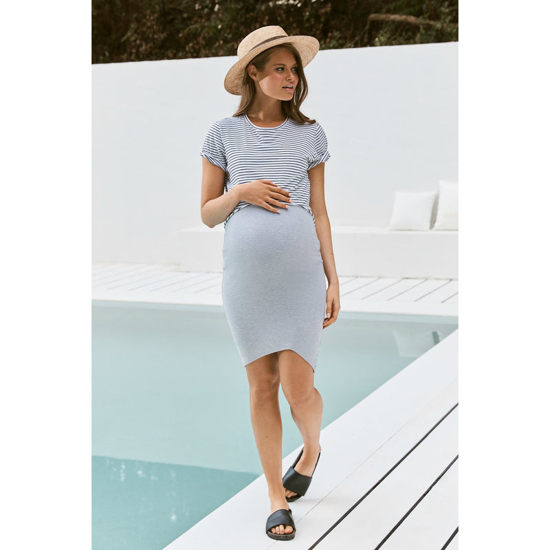 maternity skirt | bellevue skirt | grey - MUMMA + BUBBA COLLECTIVE
