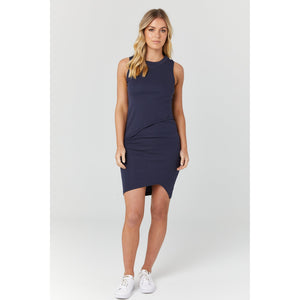maternity + nursing dress | bellevue | navy - MUMMA + BUBBA COLLECTIVE