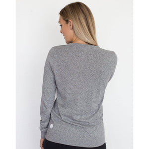 maternity + nursing jumper | crew neck jumper | grey - MUMMA + BUBBA COLLECTIVE
