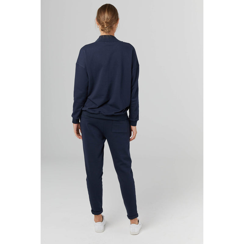 maternity jogger pants | french terry | navy - MUMMA + BUBBA COLLECTIVE