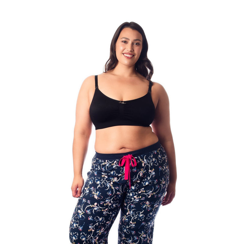 maternity + nursing bra | my necessity multi bra | black - MUMMA + BUBBA COLLECTIVE