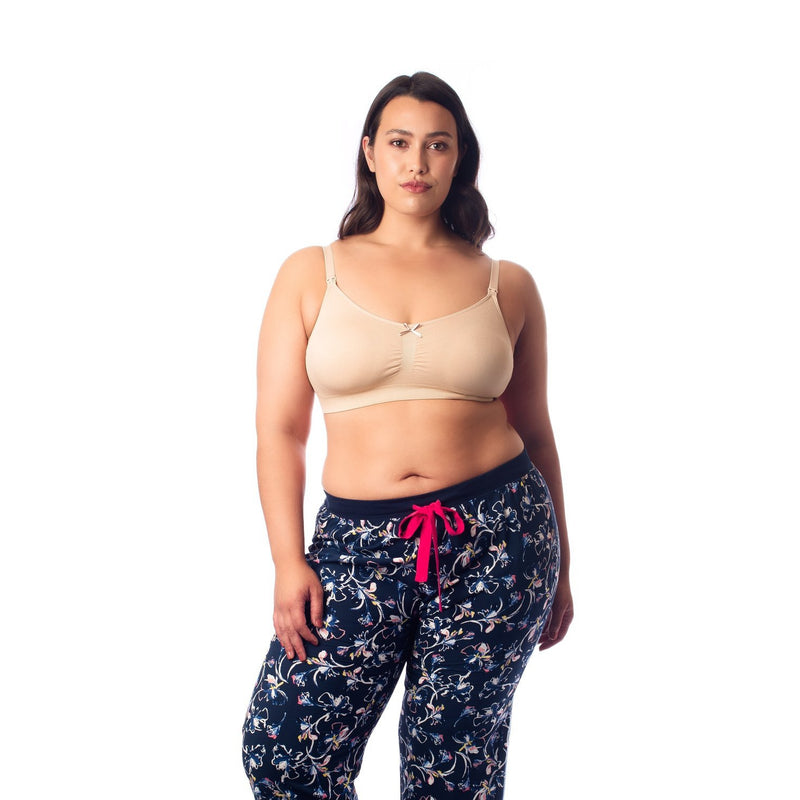 maternity + nursing bra | my necessity multi bra | nude - MUMMA + BUBBA COLLECTIVE