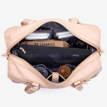 nappy bag | steffi carryall | nude - MUMMA + BUBBA COLLECTIVE