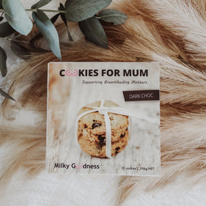 lactation cookies | dark choc - MUMMA + BUBBA COLLECTIVE