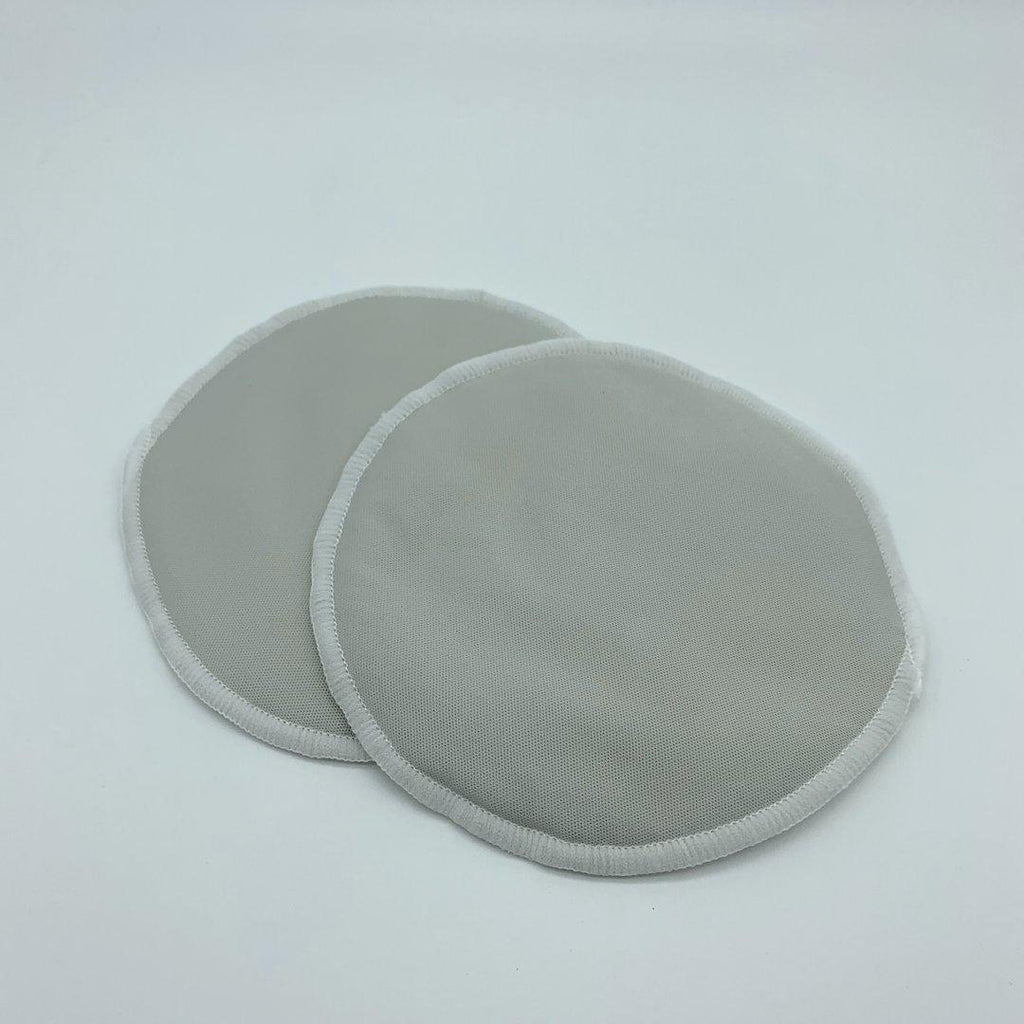 reusable nursing pads | milky goodness | grey - MUMMA + BUBBA COLLECTIVE