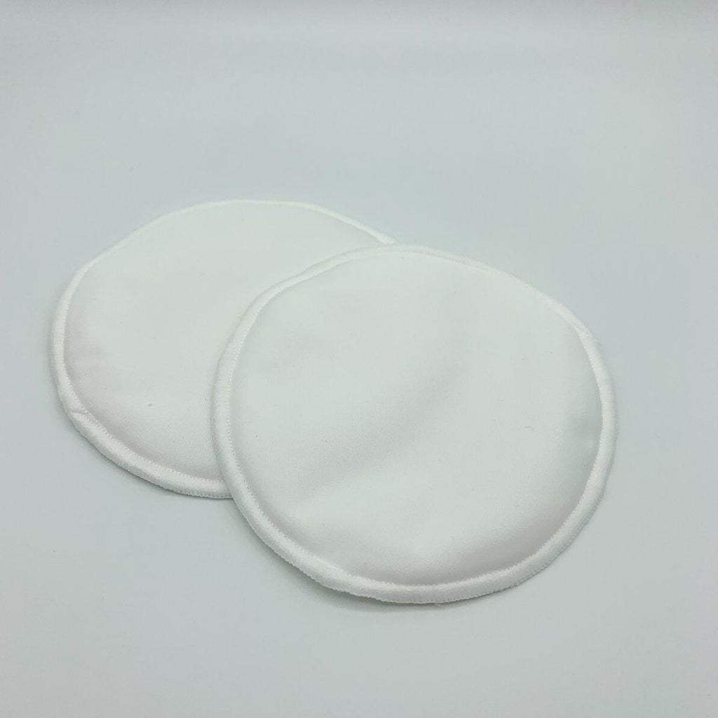 reusable nursing pads | milky goodness | white - MUMMA + BUBBA COLLECTIVE