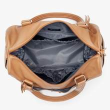 Nappy Bag | Indie Holdall | Camel - MUMMA + BUBBA COLLECTIVE