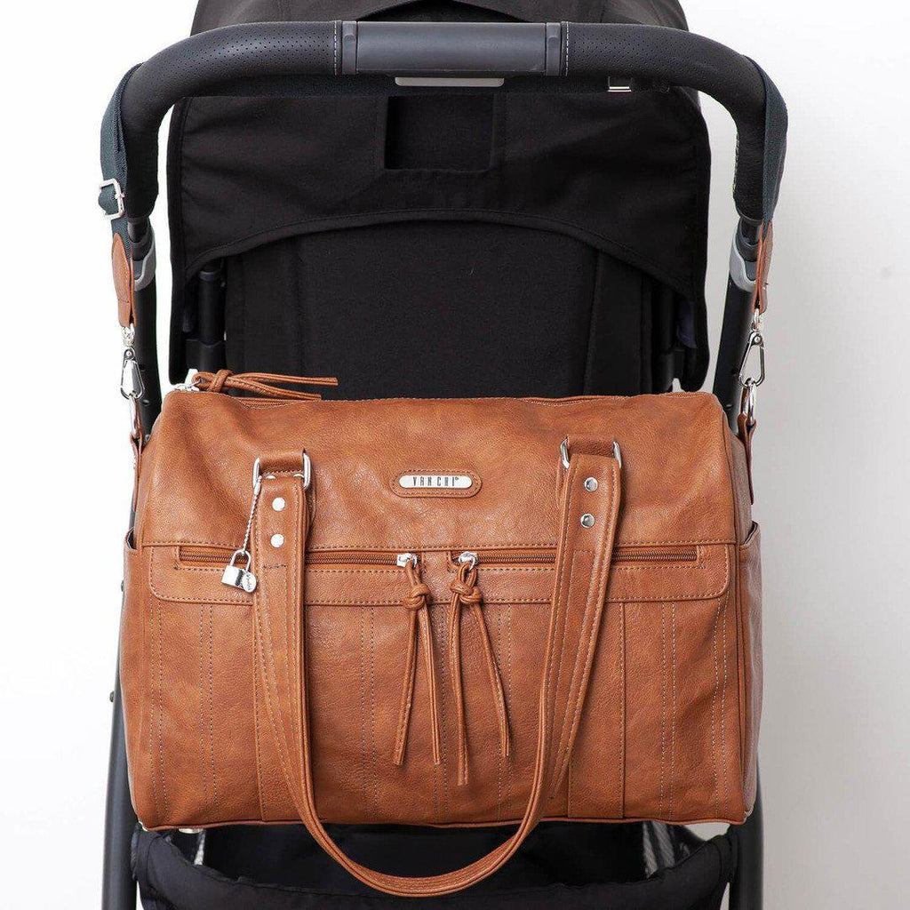 nappy bag | indie holdall | tan - MUMMA + BUBBA COLLECTIVE