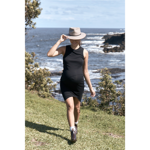 maternity + nursing dress | bellevue | black - MUMMA + BUBBA COLLECTIVE