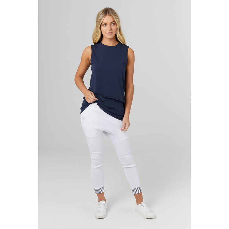 maternity + nursing tank | the nursing tank | navy - MUMMA + BUBBA COLLECTIVE