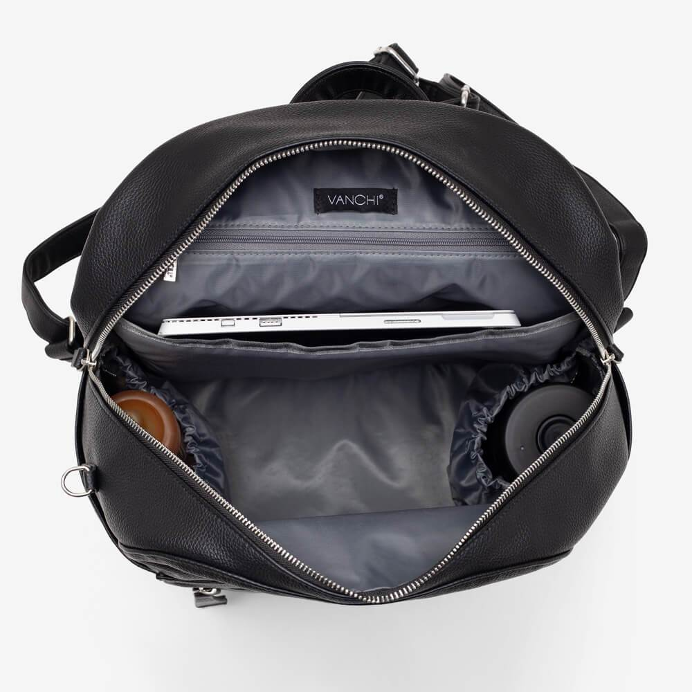 Nappy Backpack | Manhattan 2-Way | Black - MUMMA + BUBBA COLLECTIVE