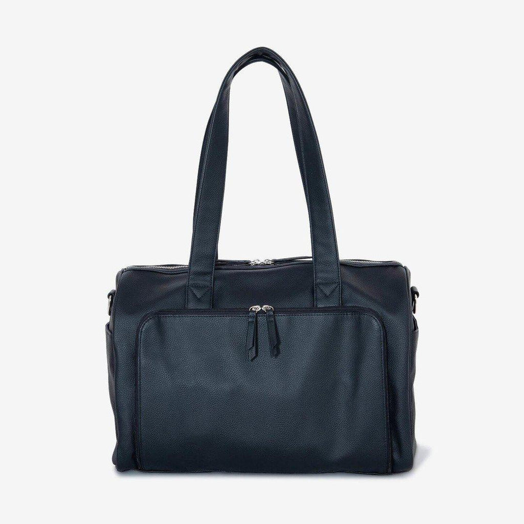 nappy bag | maya holdall nappy bag | black - MUMMA + BUBBA COLLECTIVE