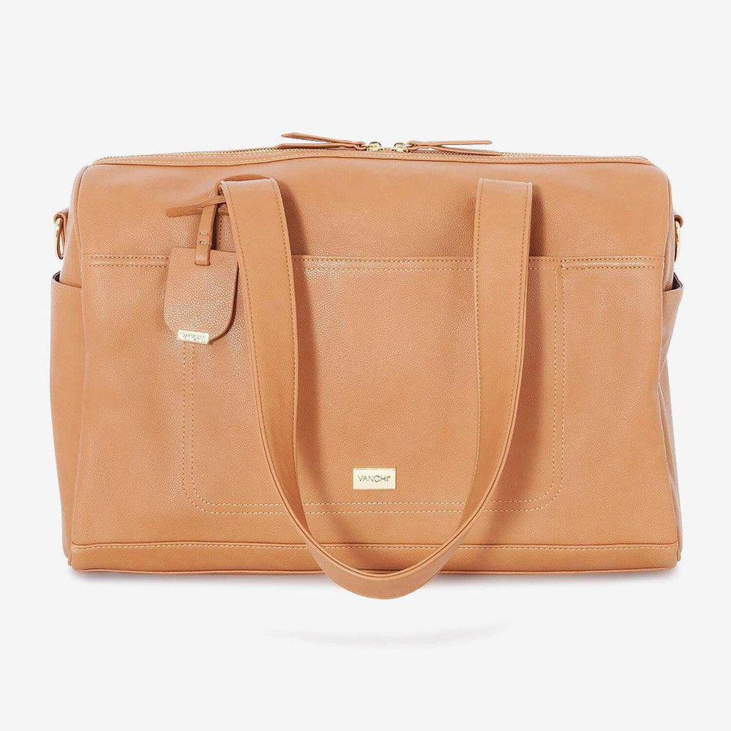 nappy bag | maya holdall nappy bag | camel - MUMMA + BUBBA COLLECTIVE
