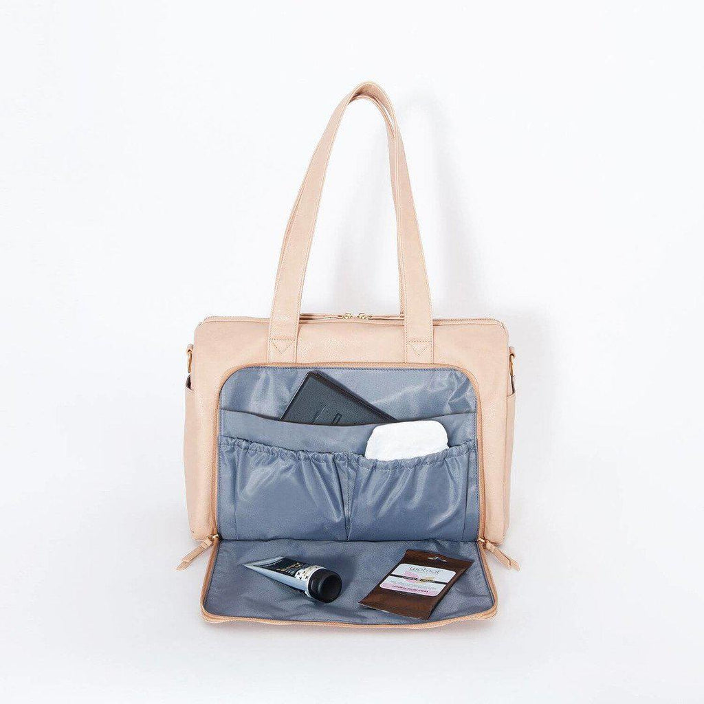 nappy bag | maya holdall nappy bag | cream - MUMMA + BUBBA COLLECTIVE