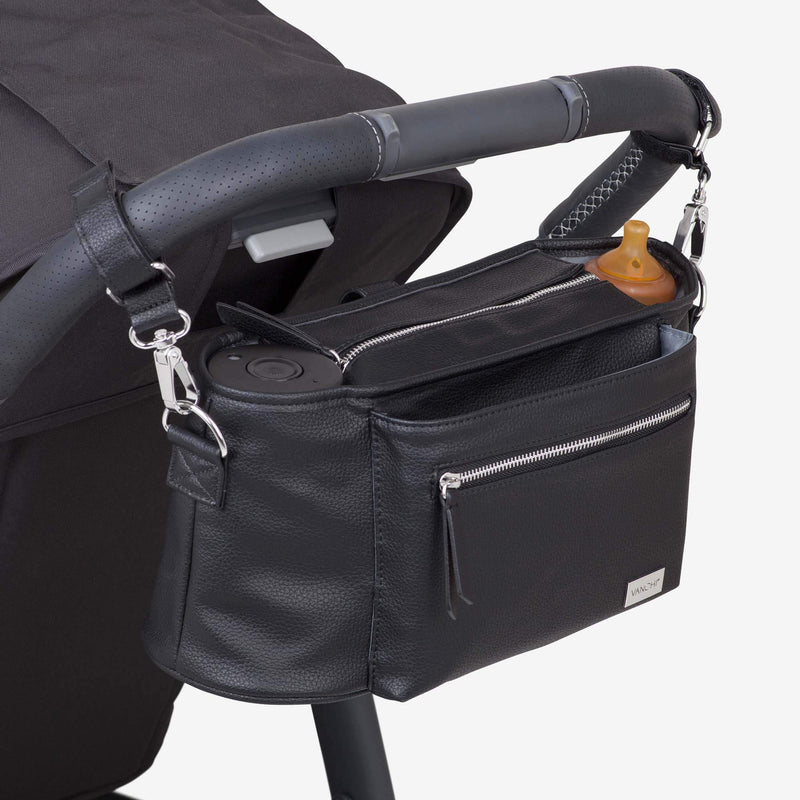Nappy Caddy | Black - MUMMA + BUBBA COLLECTIVE