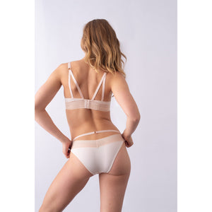 maternity underwear | ambition brazilian bikini | shell pink - MUMMA + BUBBA COLLECTIVE