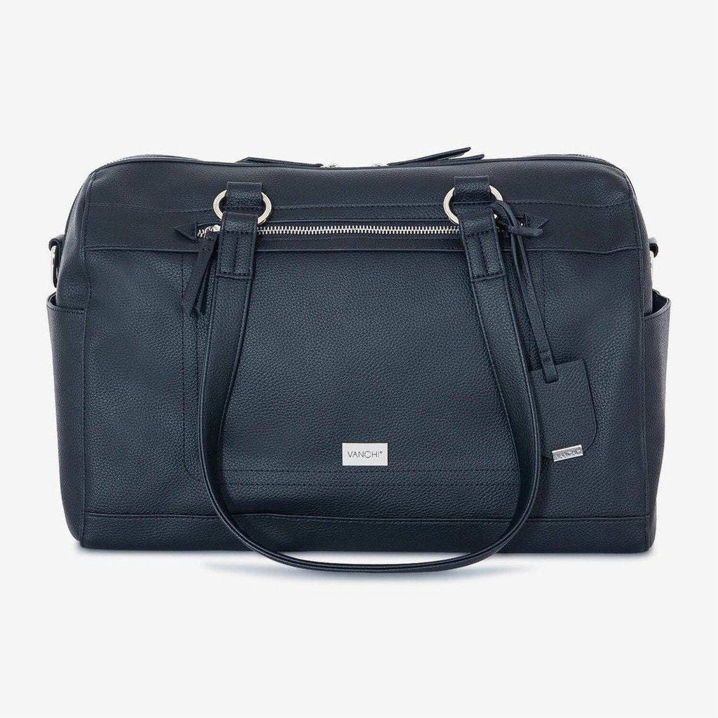 nappy bag | steffi carryall | black - MUMMA + BUBBA COLLECTIVE