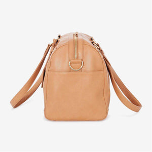 Nappy Bag | Steffi Carryall | Camel - MUMMA + BUBBA COLLECTIVE