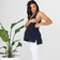 maternity + nursing tank | louis tank | navy