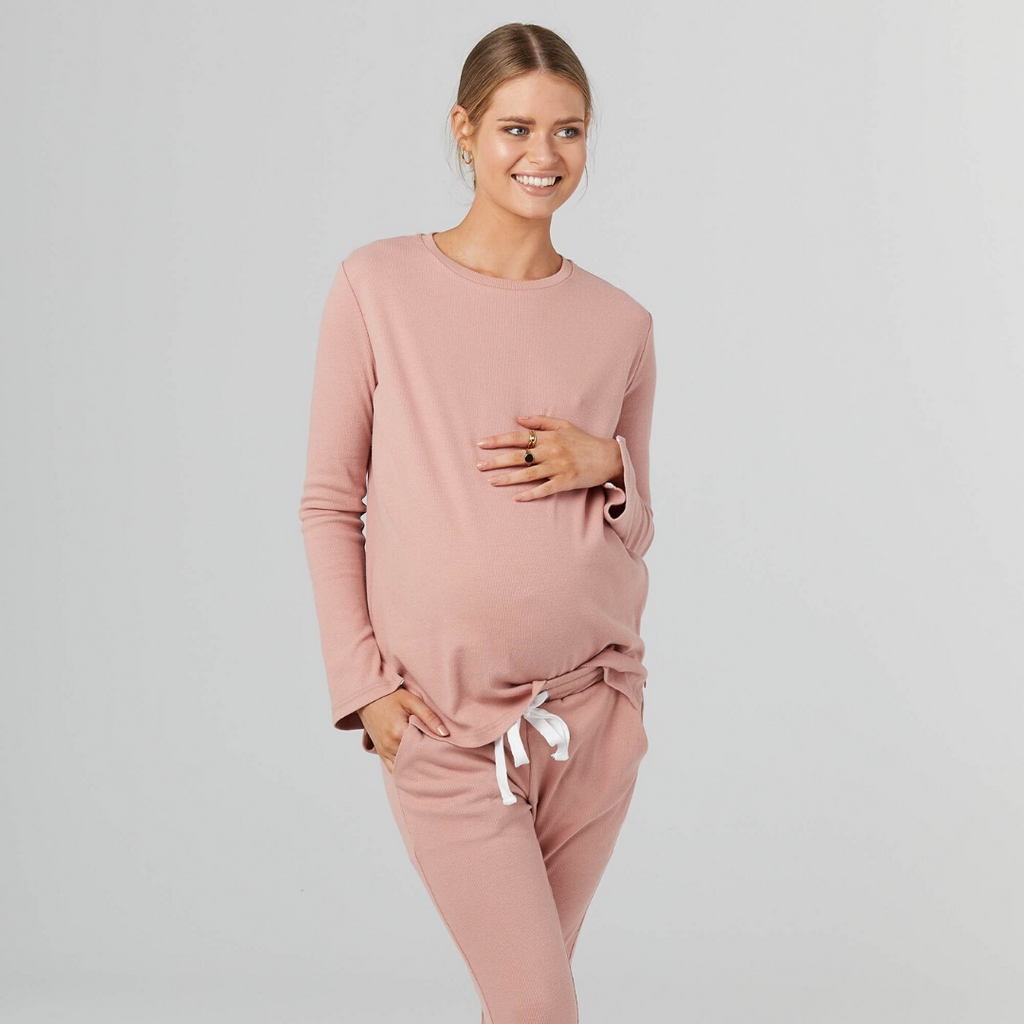 maternity + nursing jumper | rancho relaxo | rust - MUMMA + BUBBA COLLECTIVE