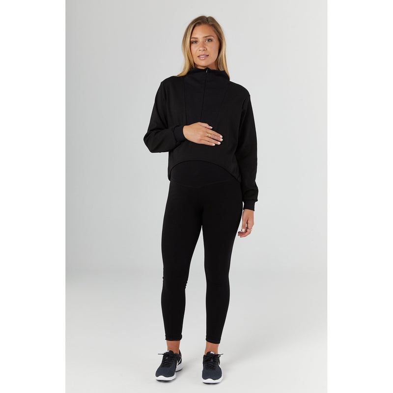 maternity sports leggings | black - MUMMA + BUBBA COLLECTIVE