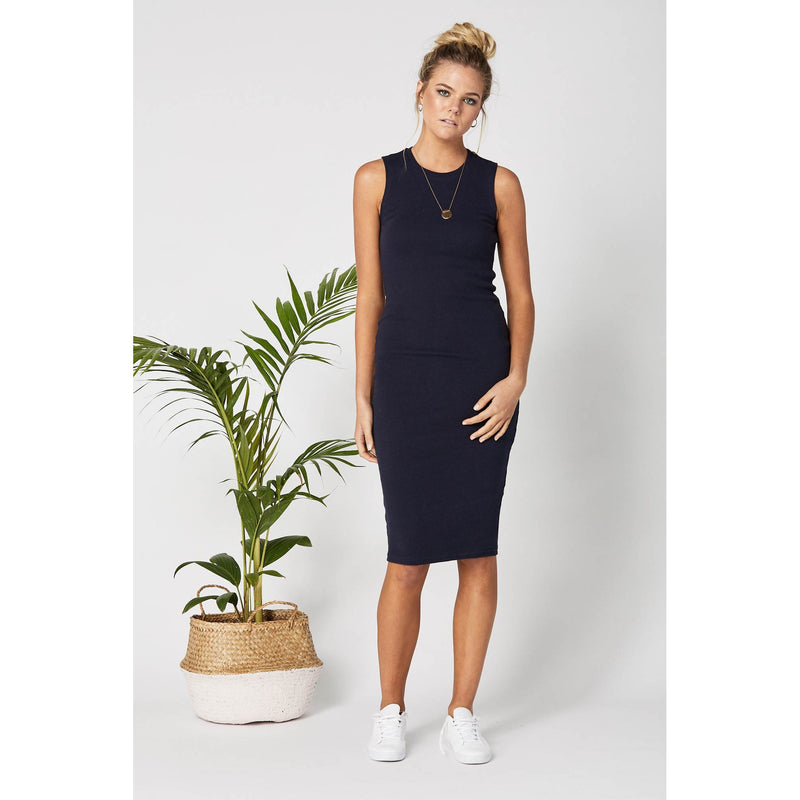 maternity + nursing dress | portugal dress | navy - MUMMA + BUBBA COLLECTIVE