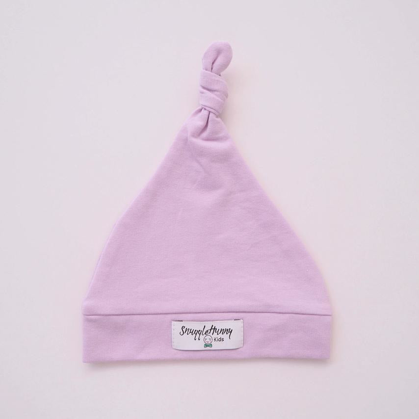 baby knotted beanie | lilac - MUMMA + BUBBA COLLECTIVE