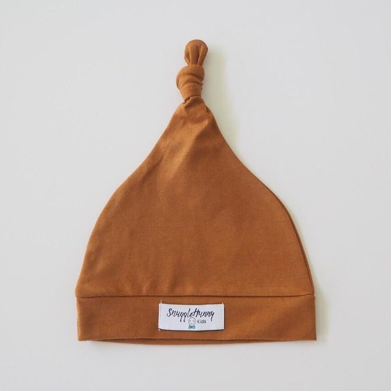 baby knotted beanie | bronze - MUMMA + BUBBA COLLECTIVE