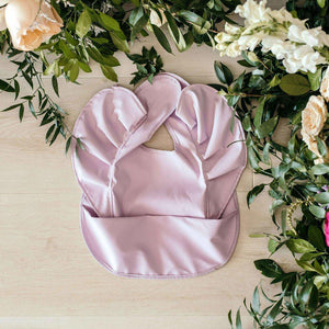 baby waterproof bib | lavender - MUMMA + BUBBA COLLECTIVE
