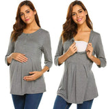Maternity Tunic Tops Sleeve