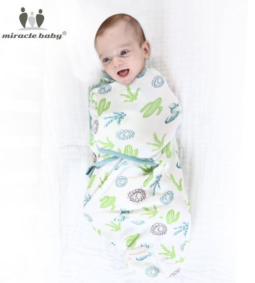 Newborn Baby Swaddle Wrap Blanket (0-6 months)