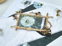 European Butterfly Metal Photo Frame
