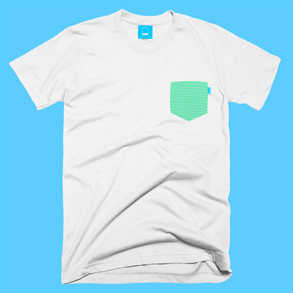 Green Waves Tee