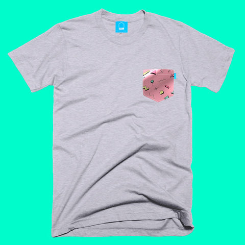 Pink Shapes Tee