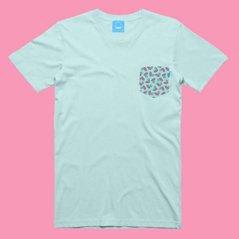 Flamingos Float Tee