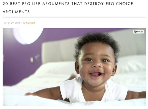 20 BEST Pro-Life Arguments That DESTROY Pro-Choice Arguments - Welcome to Truth