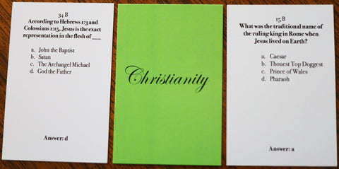 Christianity Basic Card - Christian Card Game - Welcome to Truth