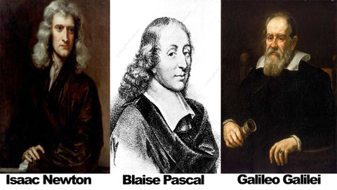 Newton, Galileo and Pascal - Ultimate Guide to Christian Apologetics