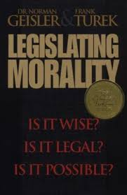 Legislating Morality - Apologetics: 50 Best Books of All Time