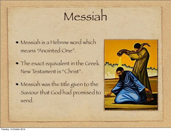 Messiah means Christ - Kanye Says Jesus is King - But who is Jesus?