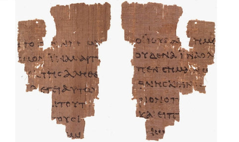 Rylands Papyrus P52 - Ultimate Guide to Christian Apologetics