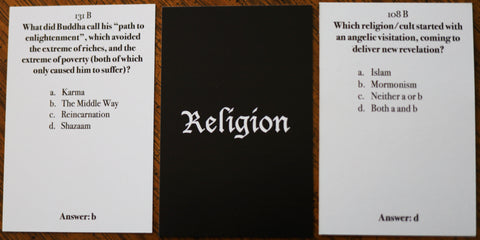 Religion Basic Pack - Christian Card Game - Welcome to Truth
