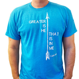 Greater is He T-Shirt