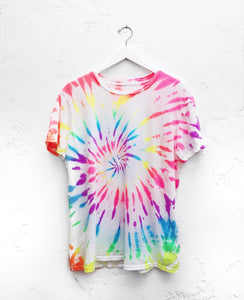 Kids Youth Crew T-Shirt / Neon Rainbow