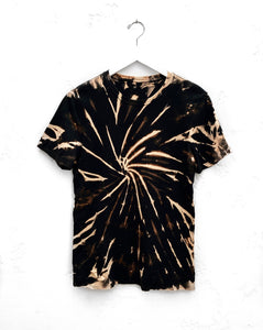 Crew T-Shirt / Black & Tan