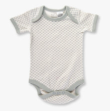 Load image into Gallery viewer, Dove grey short sleeve bodysuit